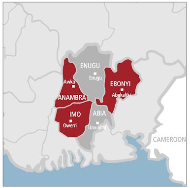 South-East Geopolitical Zone Nigeria