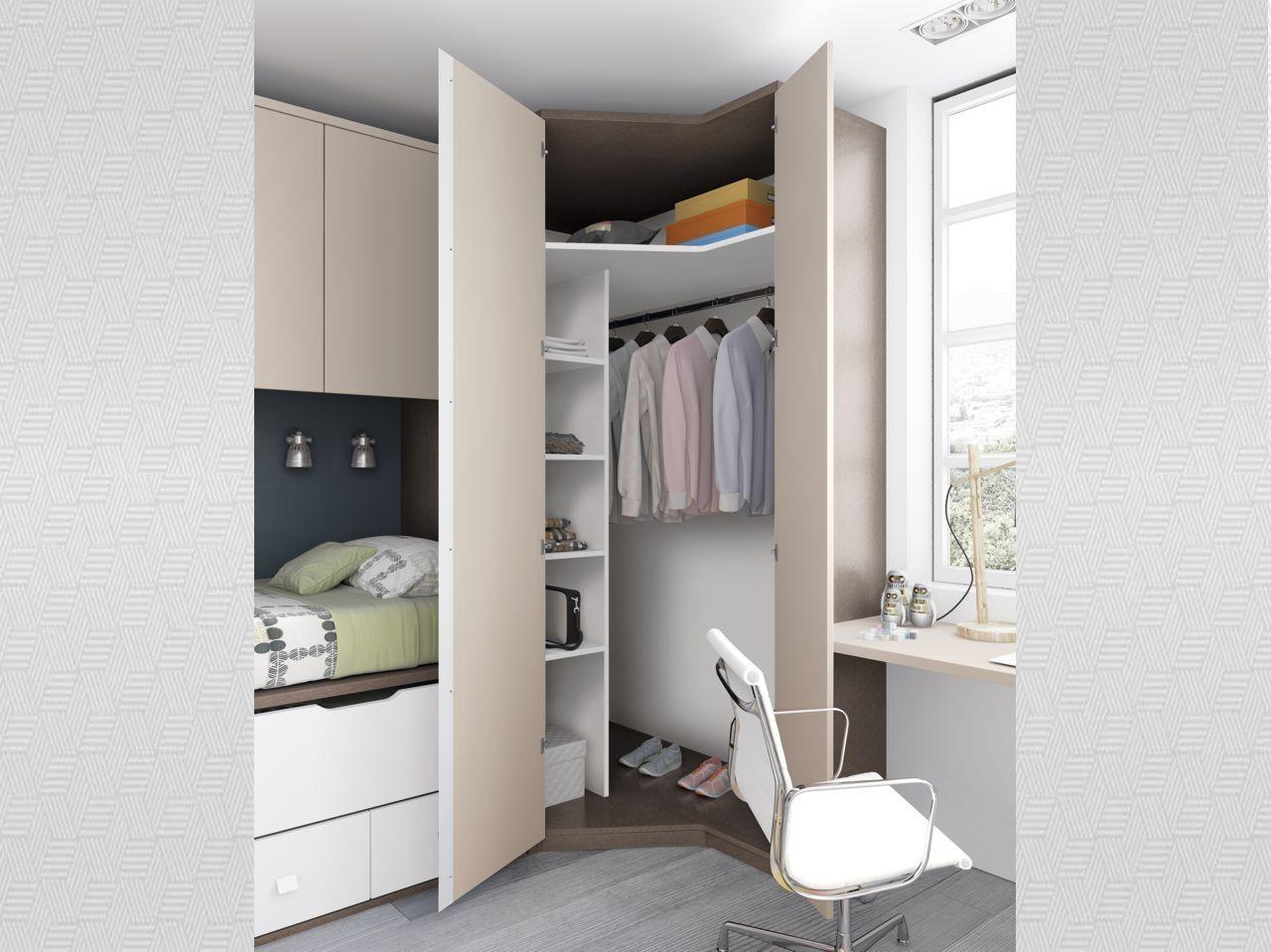 Blog dormitorios juveniles com armarios de rinc n para - Armarios juveniles rinconera ...