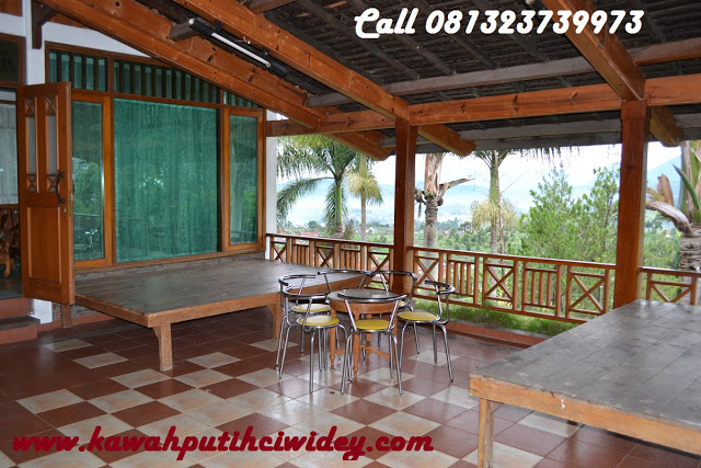 Booking villa di area wisata kawah putih dari tasikmalaya