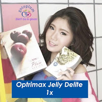 Optrimax Jelly Delite Diet Detox BPOM 100% Original