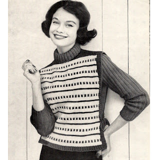 Knit tabbard and pullover knitting pattern