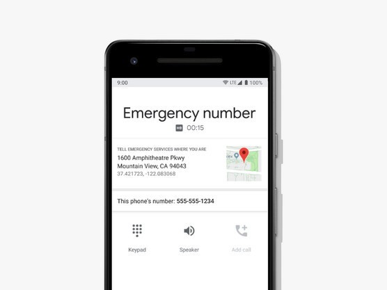 Android phones within the United States can currently mechanically share your location throughout 911 calls