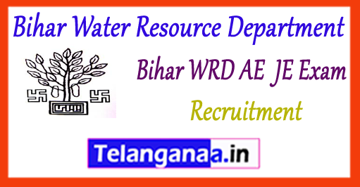 Bihar Water Dept AE JE Assistant Engineer Junior Engineer Recruitment 2017
