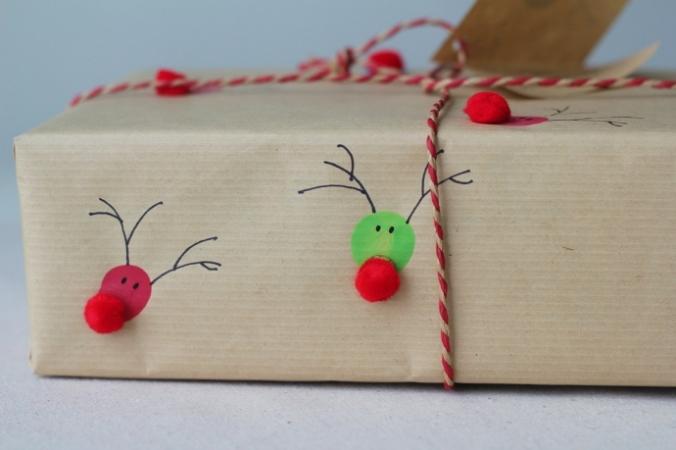 hacer tu propio papel de regalo