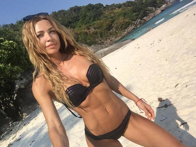 Russian fitness kate Usmanova