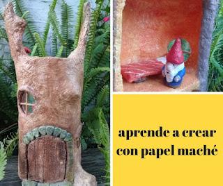 Técnica de papel maché. Tips para modelar con papel maché. Técnica artesanal. Reciclaje de papel