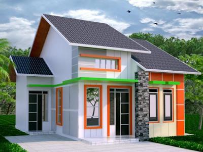 Bentuk Rumah Sederhana modern