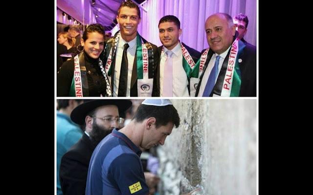 رونالدو يدعم إخواننا المستضعفين في فلسطين