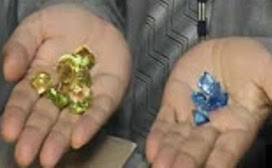 Rs.11.64 million worth of gems