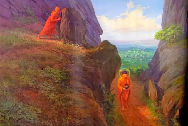 Đạo Phật Nguyên Thủy - Devadatta mưu sát Bụt