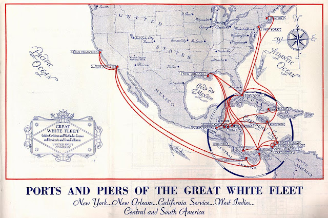 United Fruit great white fleet