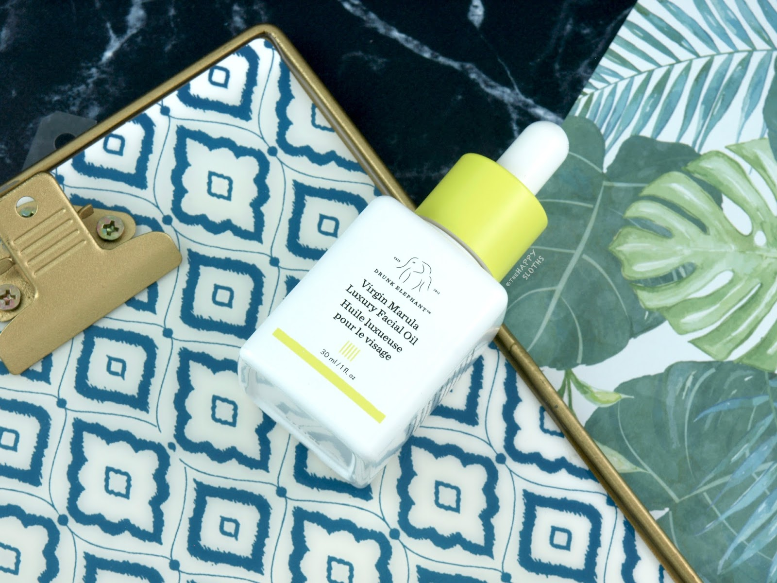 Drunk Elephant | Virgin Marula Luxury Facial Oil: Review