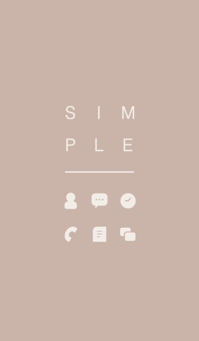 SIMPLE / beige