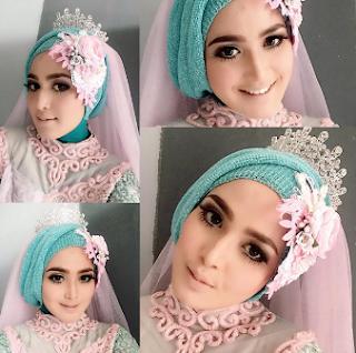 Contoh Hijab Kebaya Pengantin