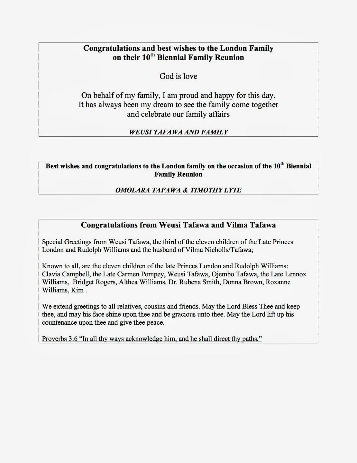 family reunion checklist template