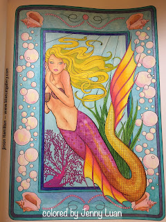 Mermaid Fantasy: Adult Coloring book