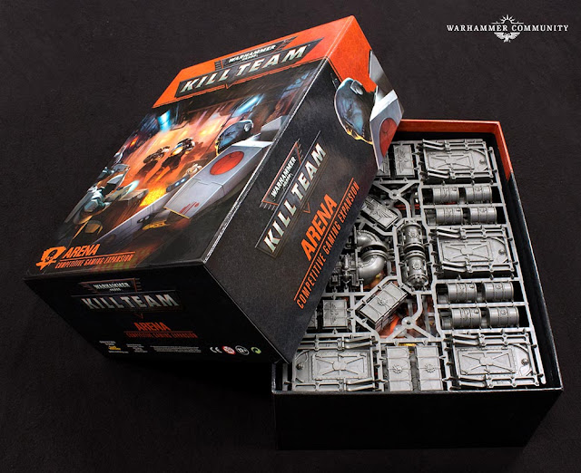 Unboxing Kill Team Arena