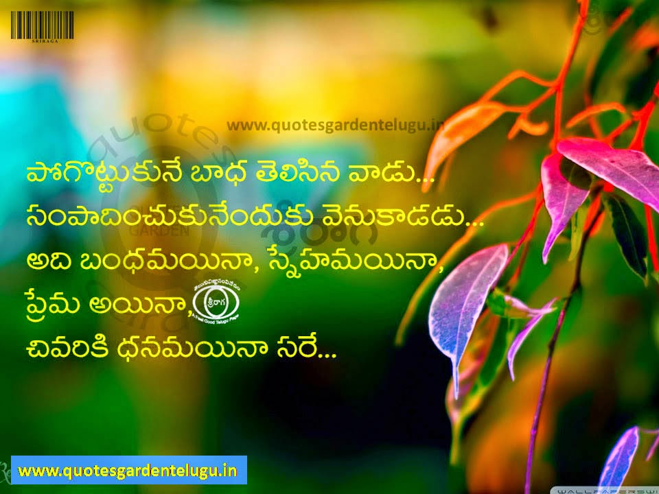 Best Telugu Friendship Quotes with images   QUOTES GARDEN ...