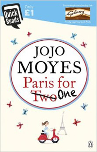 Portada de Paris for One, de Jojo Moyes