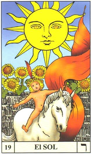 Interpretación de El Sol » Tarot Rider-Waite