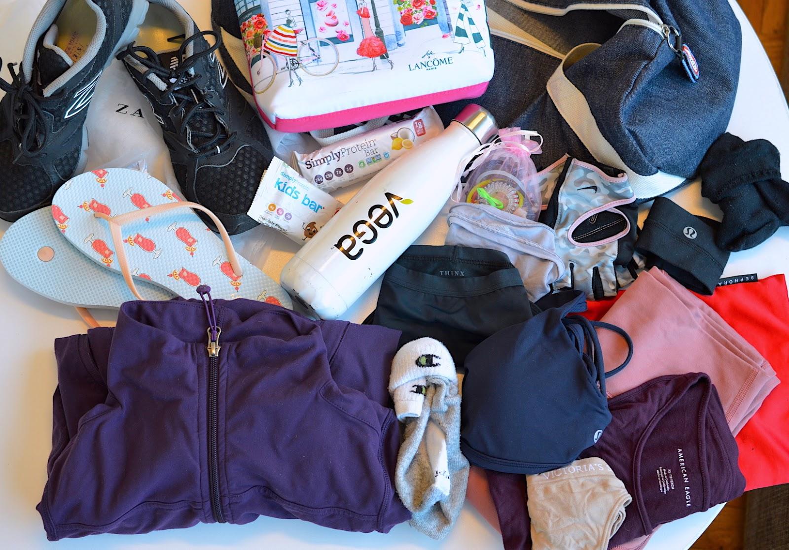 gym packing