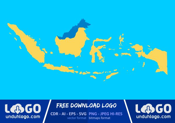 You can see the formats on. Peta Indonesia Download Vector Cdr Ai Png