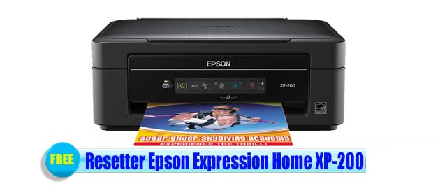 Epson Expression Home XP-200 Adjustment Program