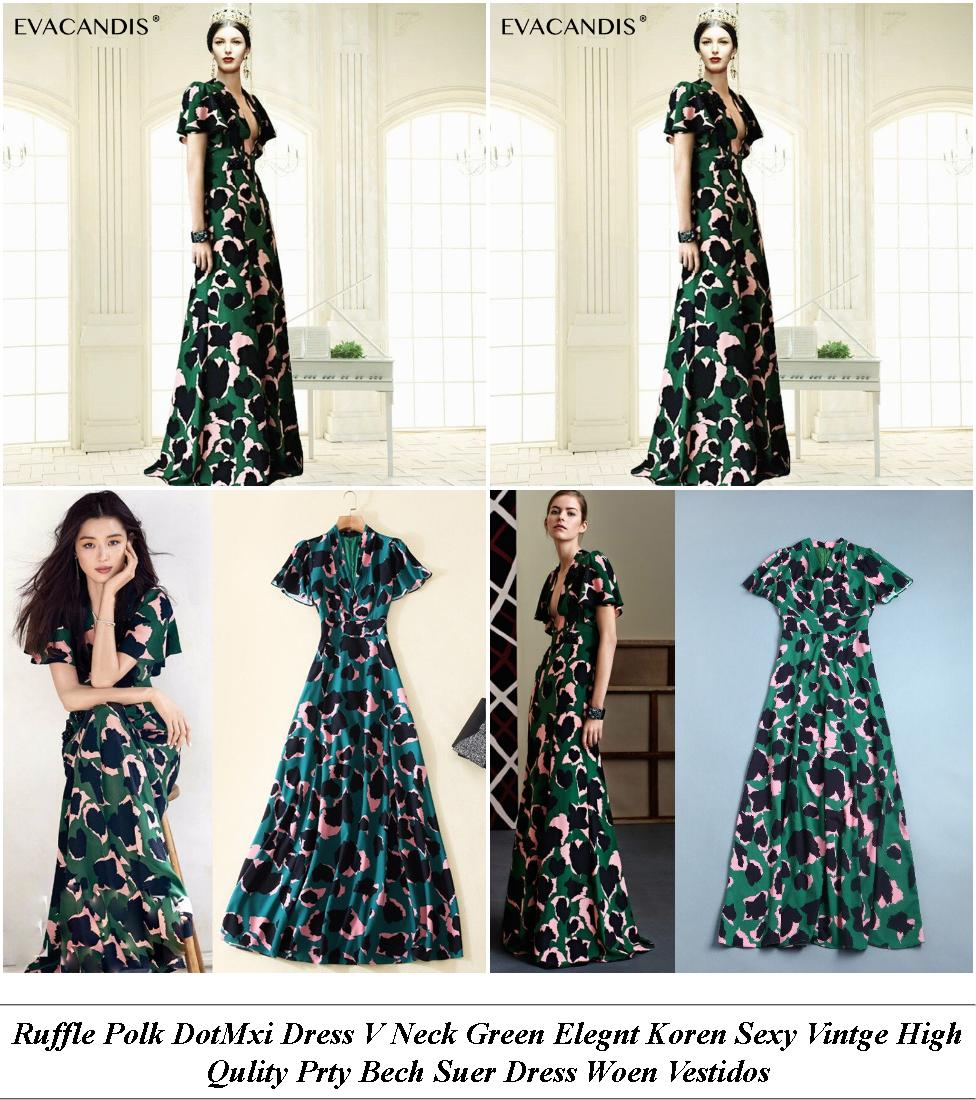 Vintage Dresses - Big Sale Online - Denim Dress - Cheap Womens Summer Clothes