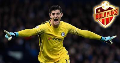 Courtois Tak Berminat Bahas Kontrak Dengan Chelsea