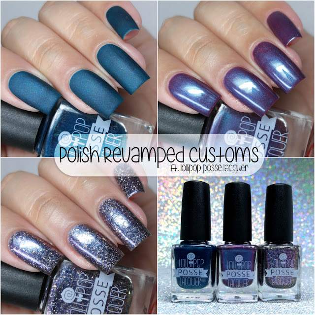 Lollipop Posse Lacquer - Polish ReVamped Custom Trio