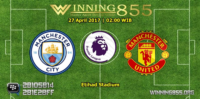 Prediksi Skor Manchester City vs Manchester United 27 April 2017