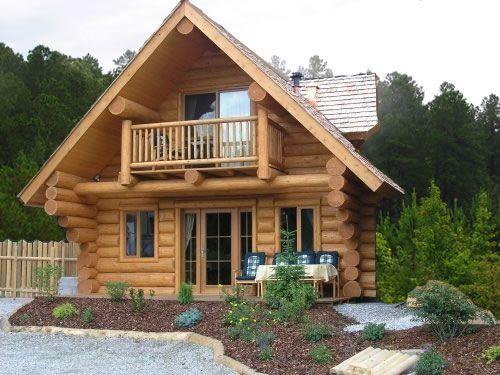 Rumah kayu gaya Eropa