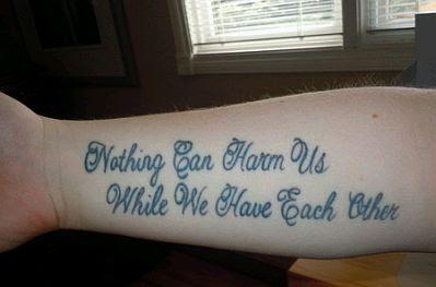 Banco De Imagenes Y Fotos Gratis Tatuajes De Frases Parte 4