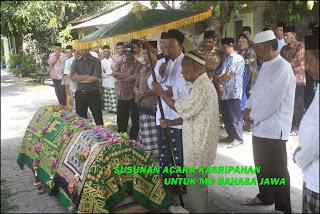 Susunan Acara Kasripahan (Kematian) Mc Bahasa Jawa