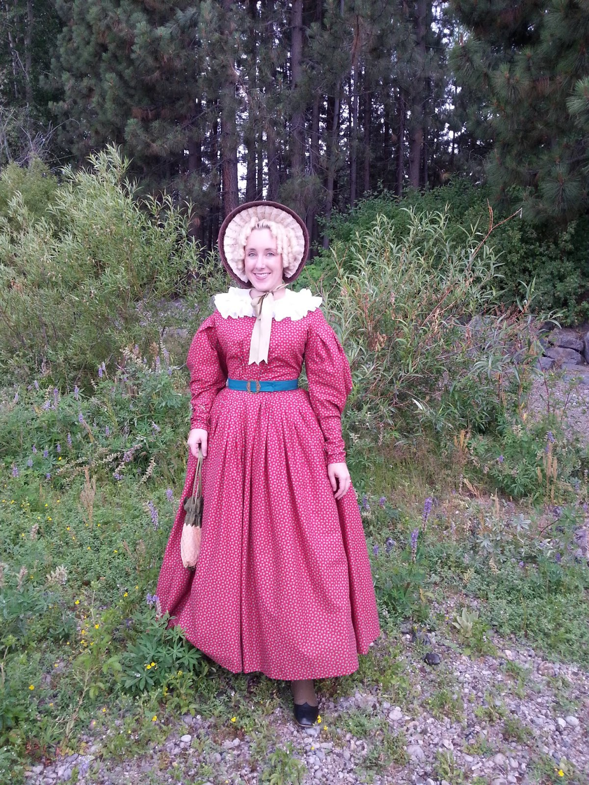 American Duchess: My First 1830s Dress - Complete!