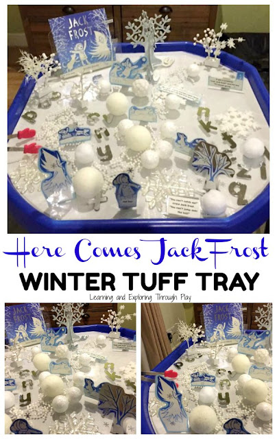Jack Frost Winter Tuff Tray