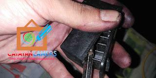 Bongkar isi Catridge Karena masalah tinta yang tidak keluar pada Canon IP2770