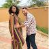 Majib Michel cradles Yvonne Nelson's baby bump