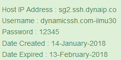 SSH SGDO Account 1  Month Februari 2018 Updated