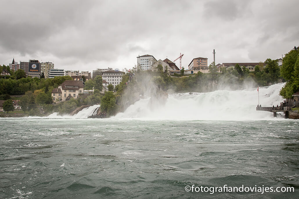 Cataratas del Rin Rheinfall en Suiza