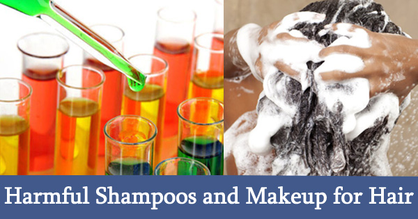 Harmful Shampoos and Makeup for Hair