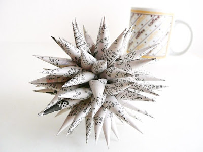 Creative and Cool Ways to Reuse Old Newspapers (30) 8