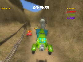 Download Game Buggy Race For PC
