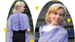 Chal para tejer al crochet / Paso a paso