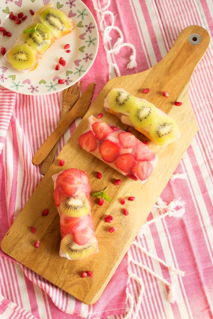 sajgonki z owocami przepis