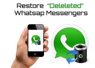 tips Mengembalikan Pesan WhatsApp yg Terhapus