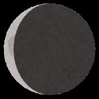 月の満ち欠けのイラスト6