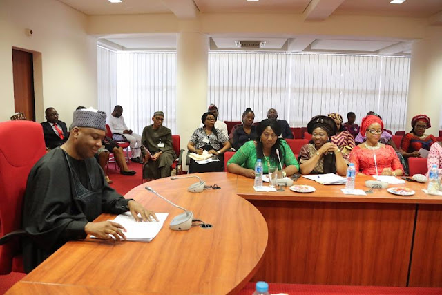 Image result for Saraki Pledges To Support Women In 2019