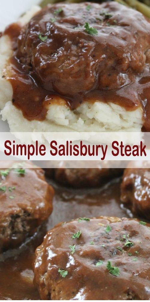 Simple Sαlisbury Steαk