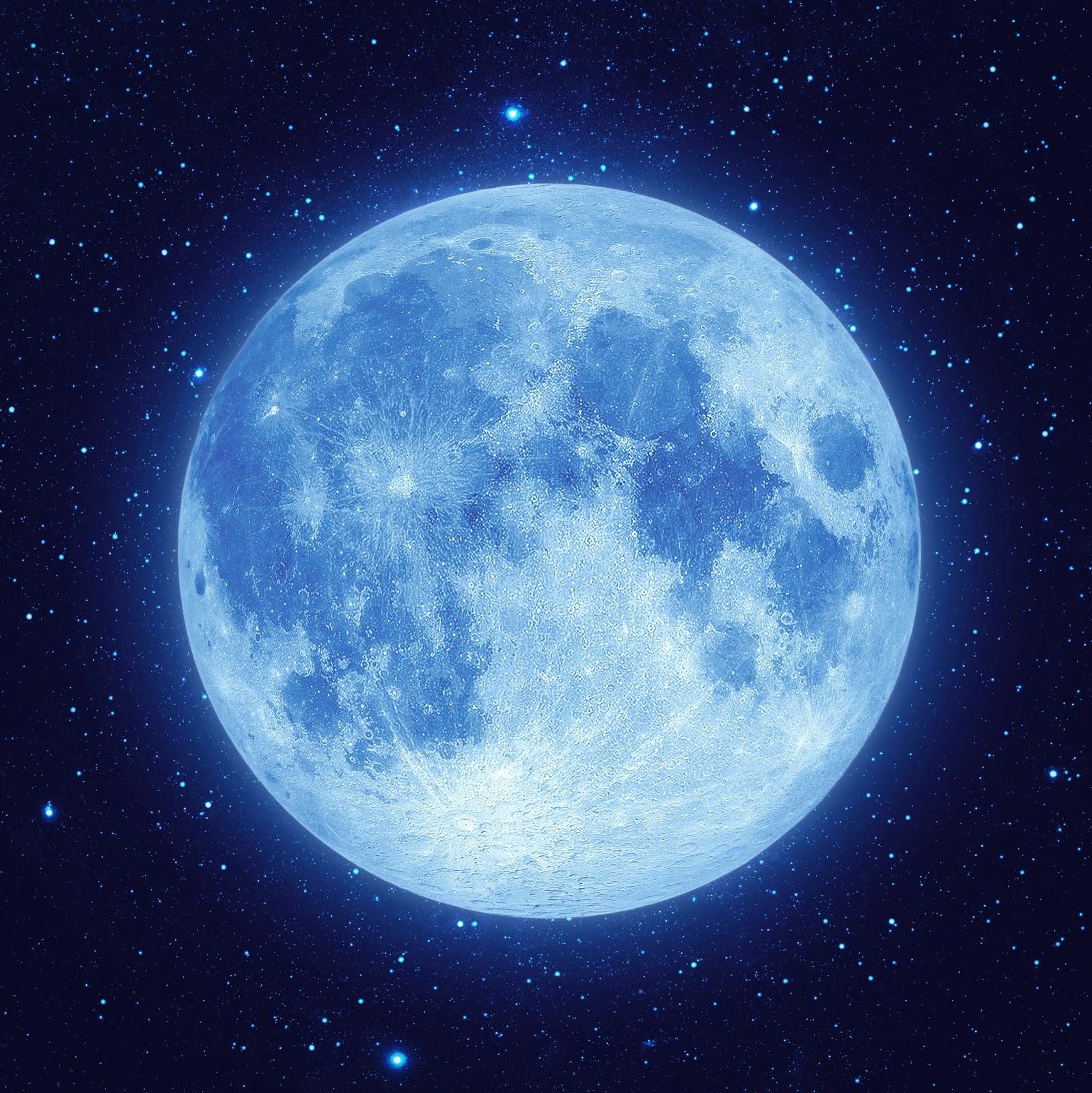 blue moon - photo #4